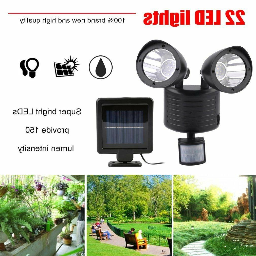 Dual Security Spot Sensor Outdoor LED