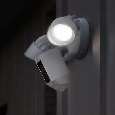 Ring Floodlight with HD wide Angle Motion White