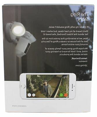 Ring Floodlight with wide Angle Motion White