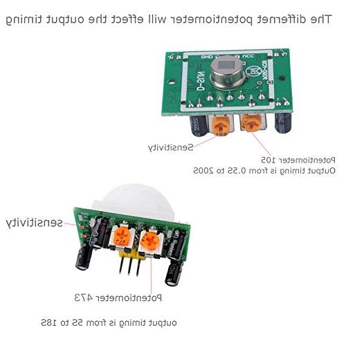 DIYmall IR Sensor Motion Module for