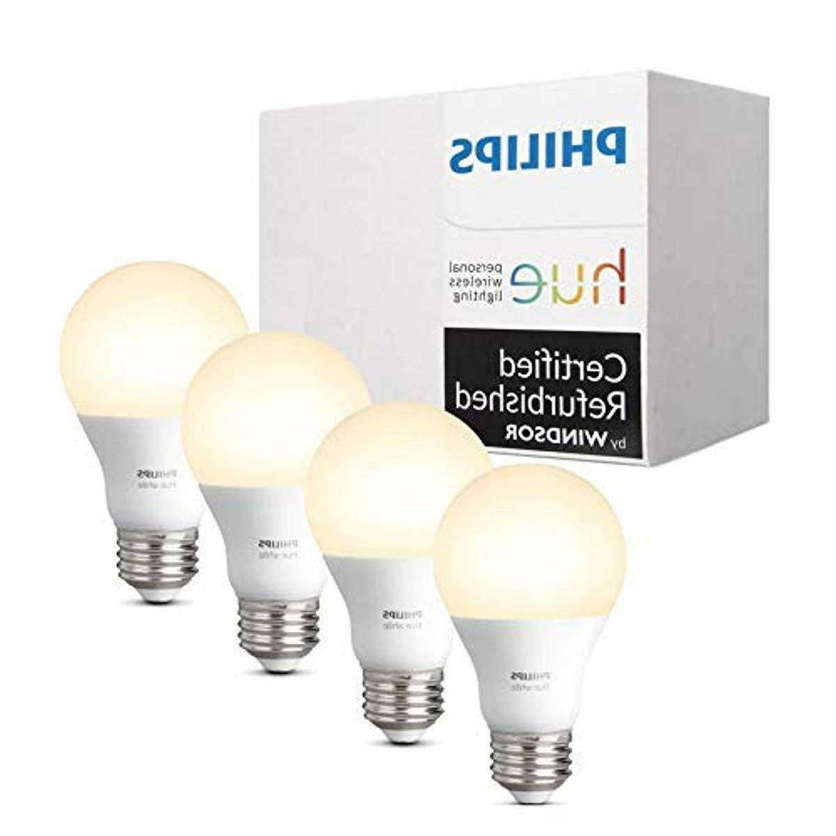hue white a19 4 pack 60w equivalent