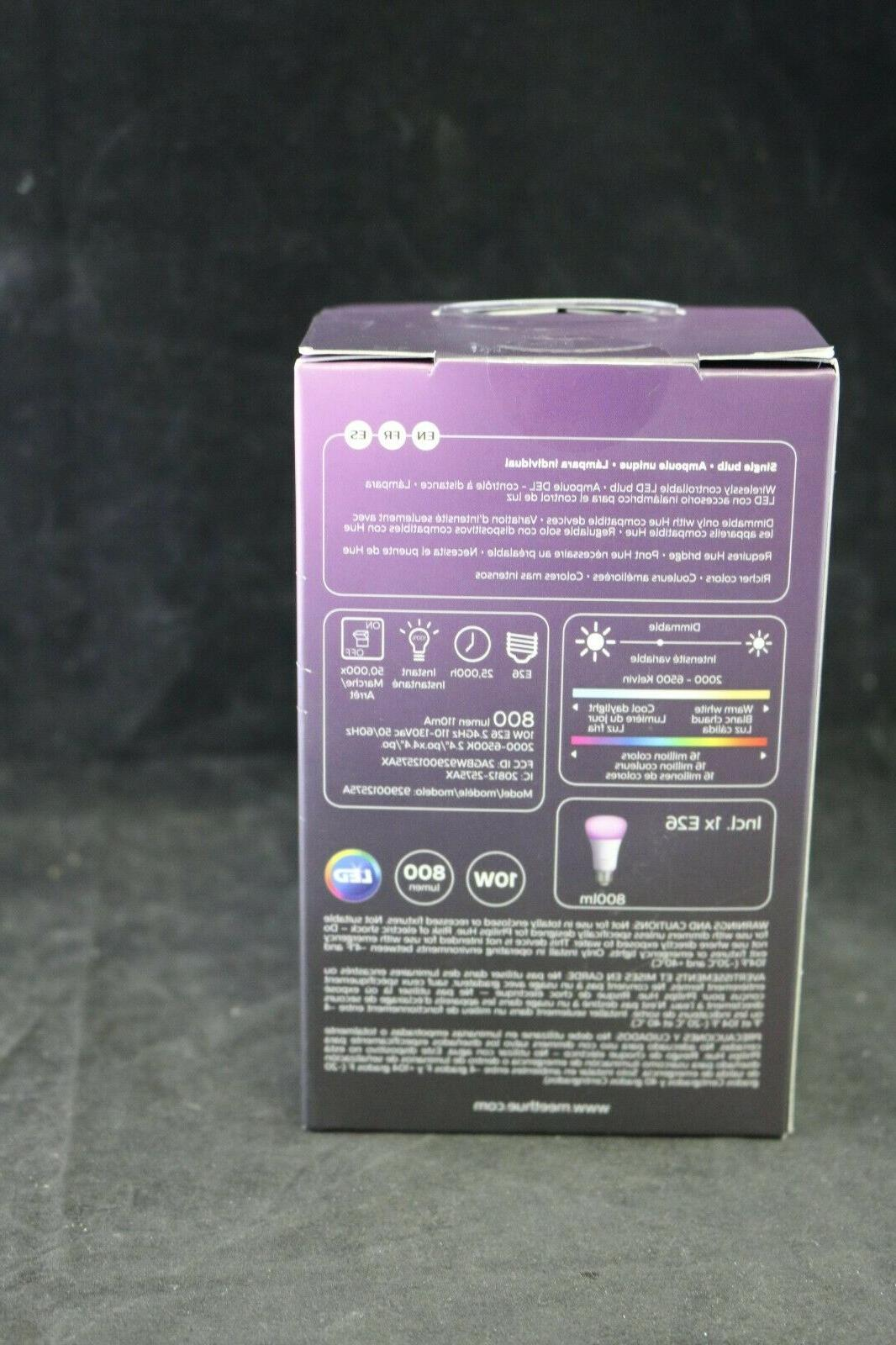 Philips Color A19 Bulb