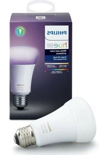 hue white and color ambiance bulb 3rd