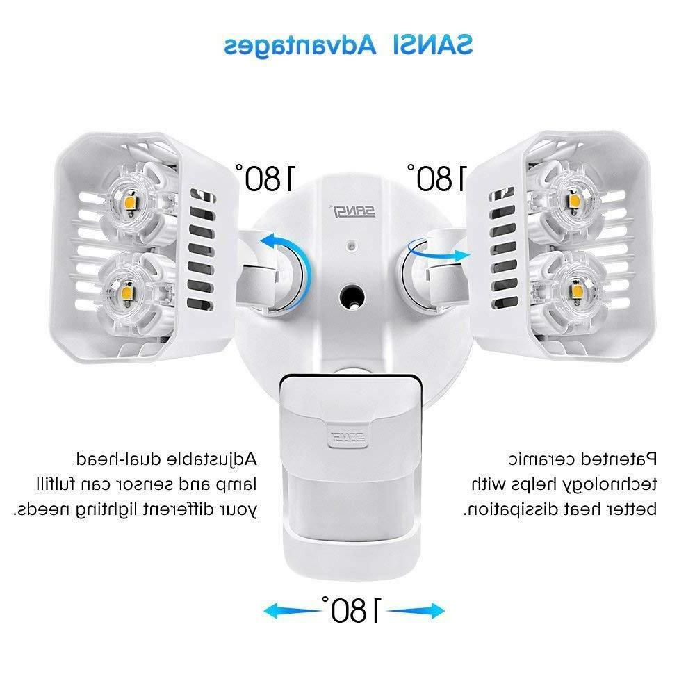 SANSI LED Outdoor Waterproof Floodlight Motion Sensor Securi