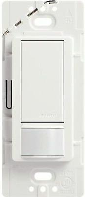 Lutron Maestro 2-amp Single Pole White Motion Indoor Occupan