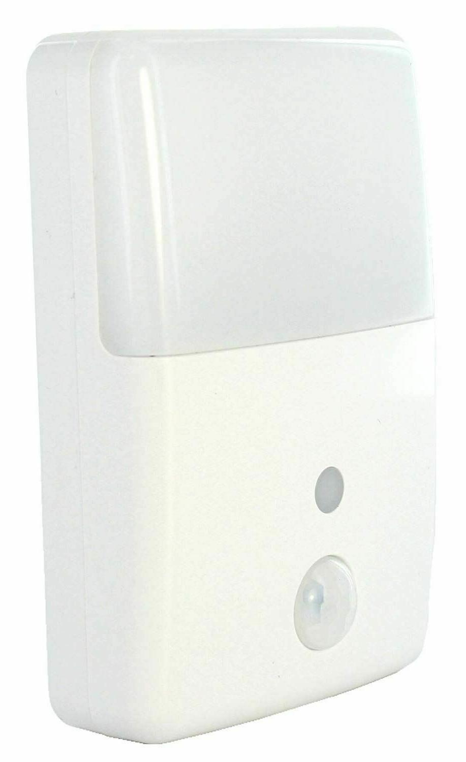 Motion Activated Detector Sensor LED Indoor Night Light Home