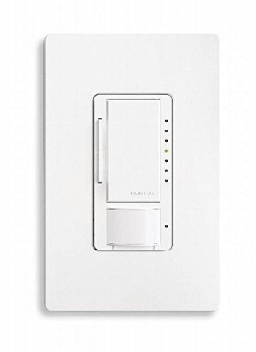 Lutron Dimmer Occupancy 600W CFL or LED,