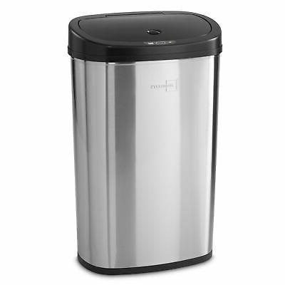 motion sensor garbage trash can touchless 13