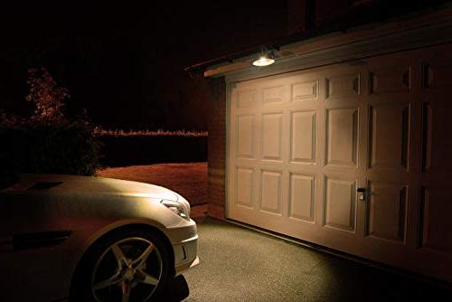 Motion Light 7W Smart Base, White 3000K Radar Motion Night for Porch Garage Basement Stair,