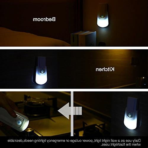 uxcell Light Handhold Night Security Night Closet Stairs Kitchen