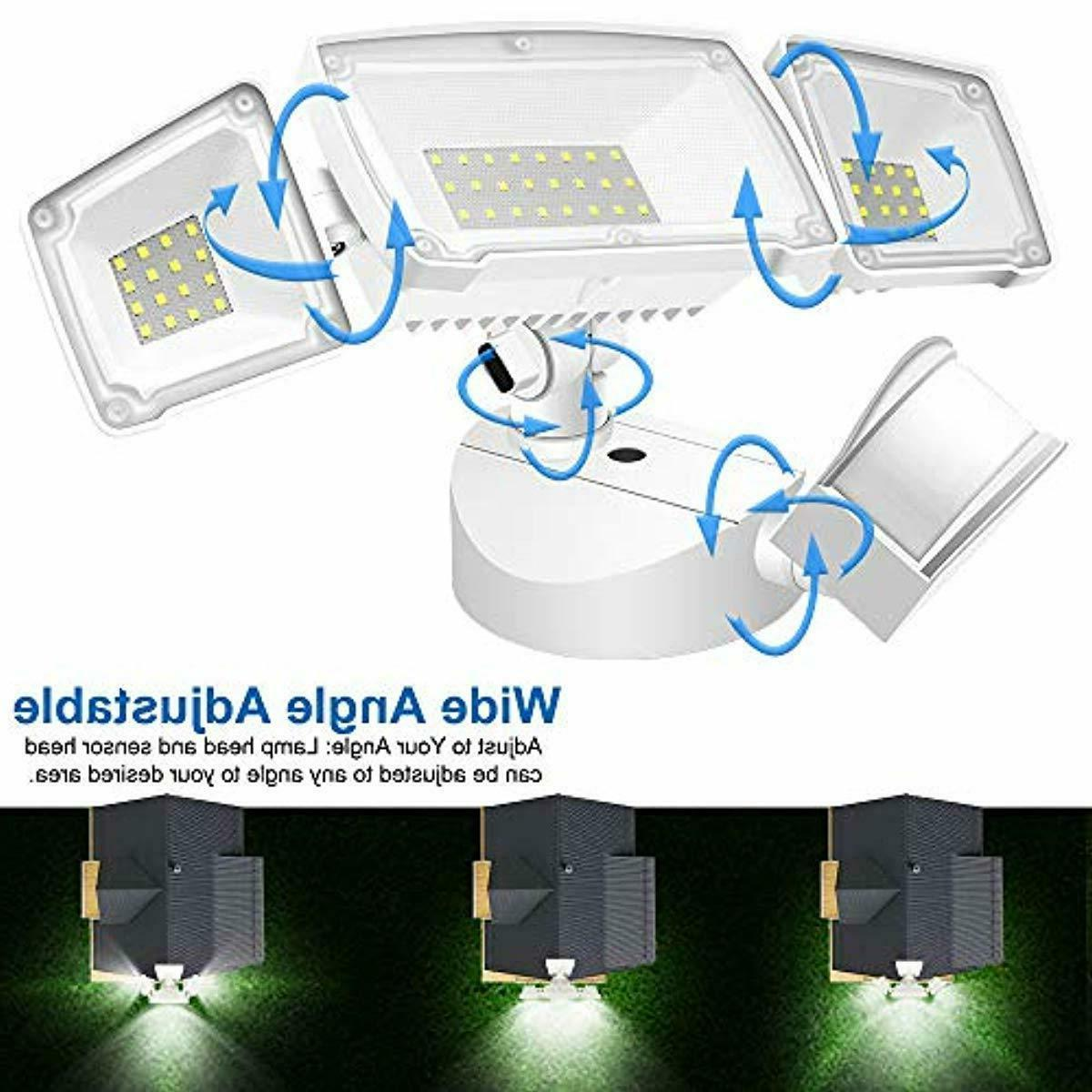 Motion Sensor Lights Outdoor,Ultra Bright 3500LM LED Flood