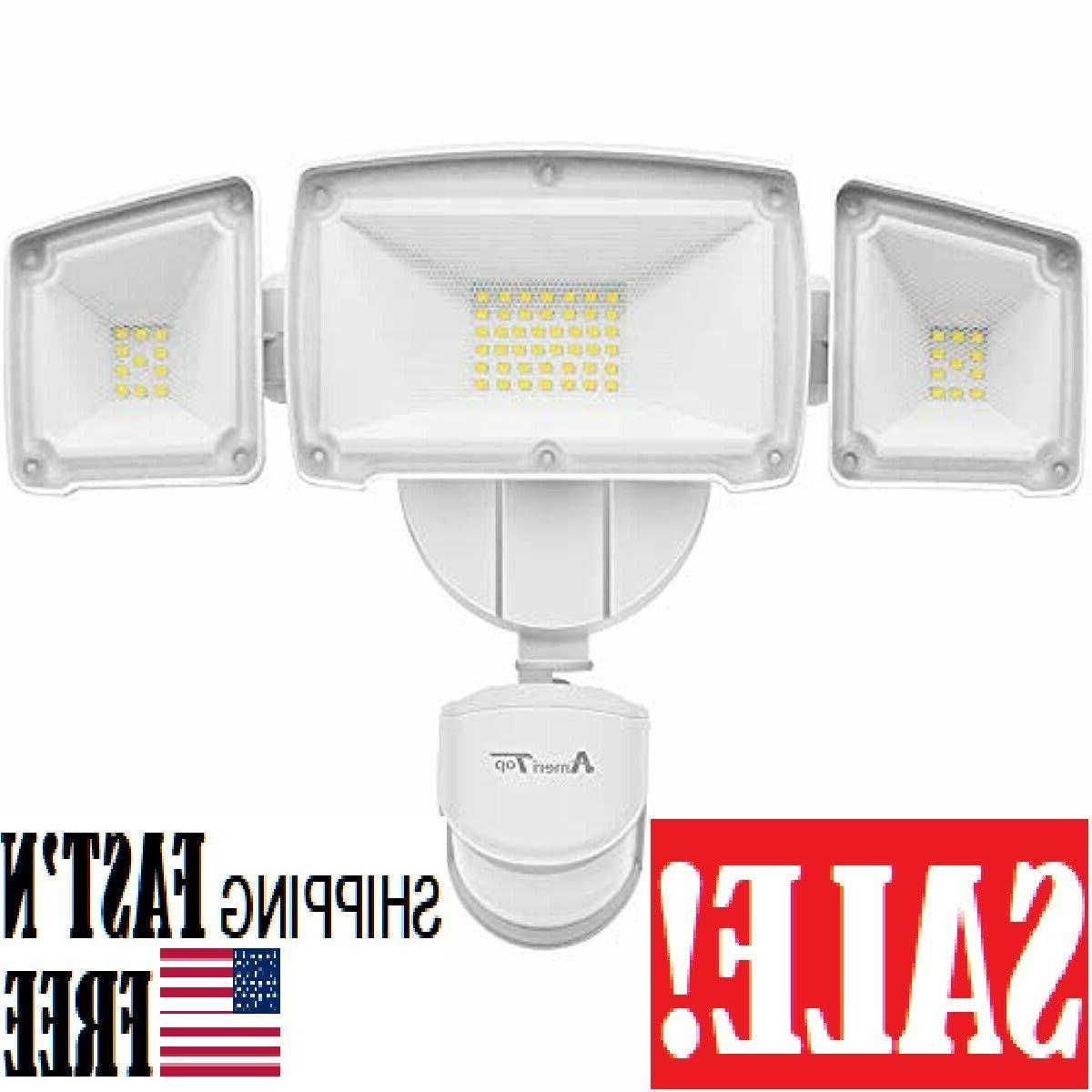 motion sensor lights outdoor ultra bright 3500lm