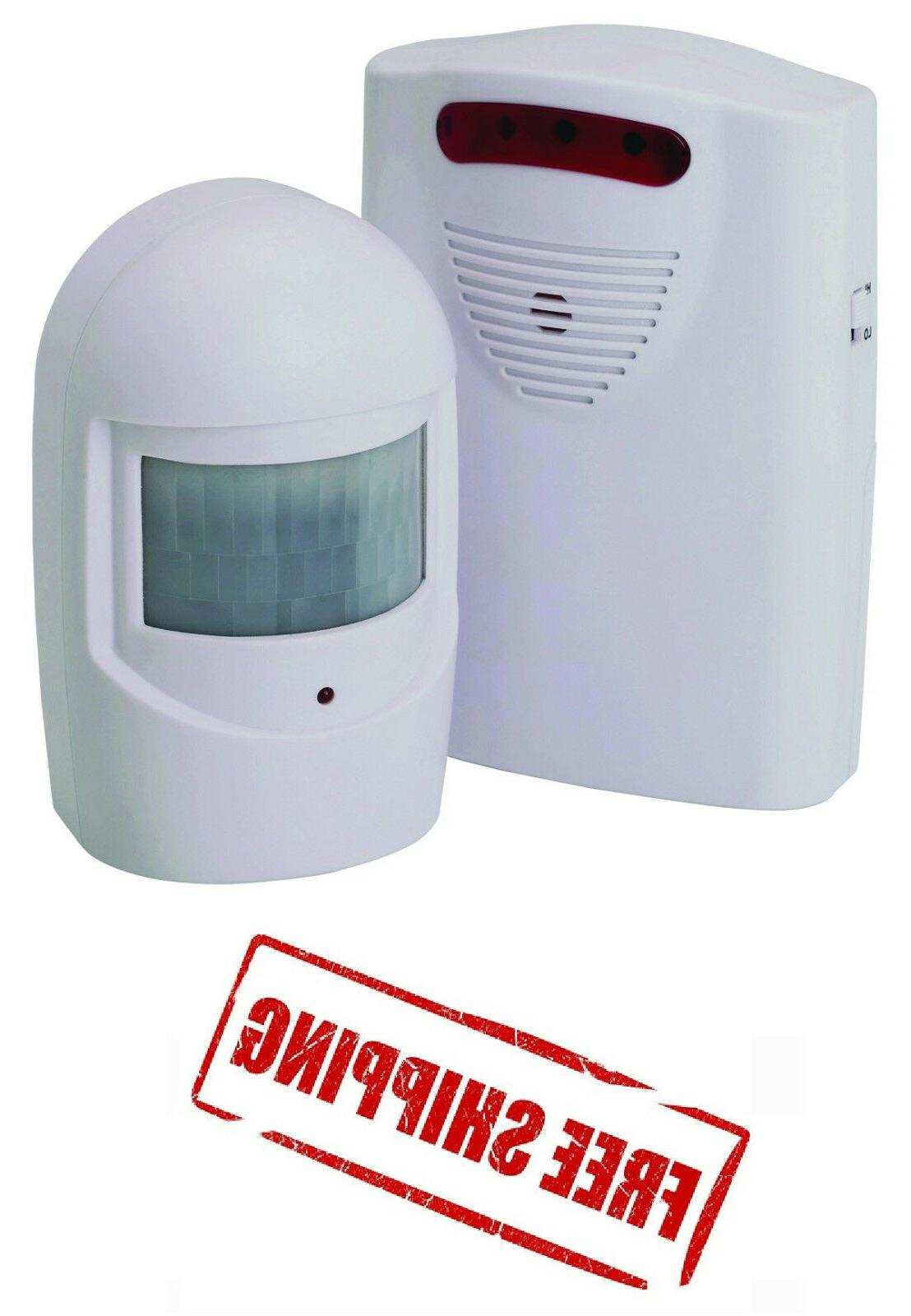 Wireless Motion Activated RETAIL STORE ENTRANCE ENTRY ALARM