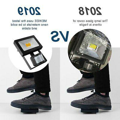 Motion Security Flood Light Lamp Garden
