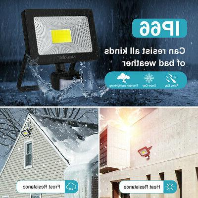 Motion Sensor Flood Outdoor Lamp