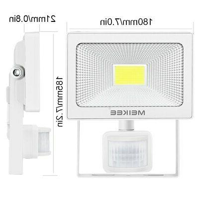 Motion Sensor Security LED Flood Lamp Yard