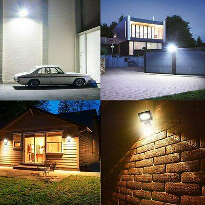 Motion Sensor Flood Light Spot Lamp Garden Waterproof