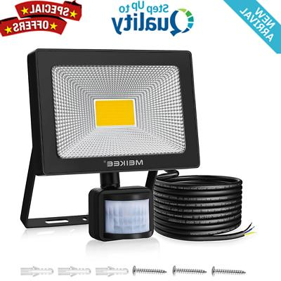 motion sensor security led flood light outdoor