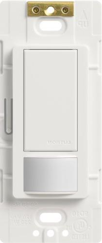 Lutron MS-VPS2-WH Maestro 250 Watt Single Pole Vacancy Senso