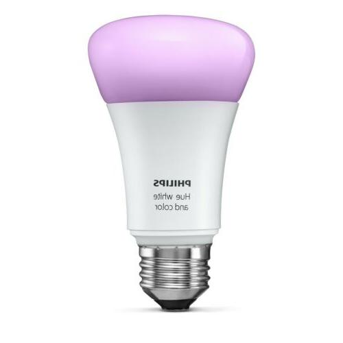new hue white and color ambiance a19