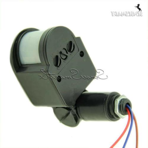 Outdoor 12M Security Infrared PIR Wall LED 140°