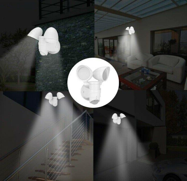 Outdoor Motion Sensor Flood Light Barn Garage Mount