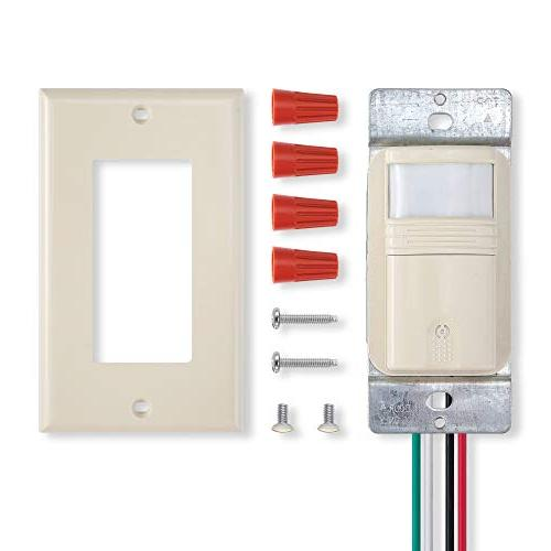 Ivory Light Switch Wire Pole Indoor & Occupancy Modes – Title