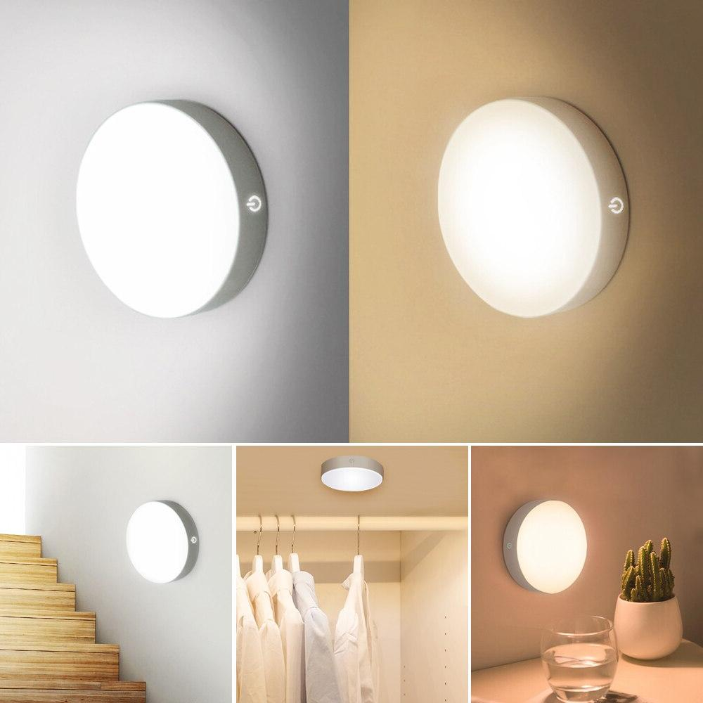 LED Wall Auto Wireless Lamp for Bedroom