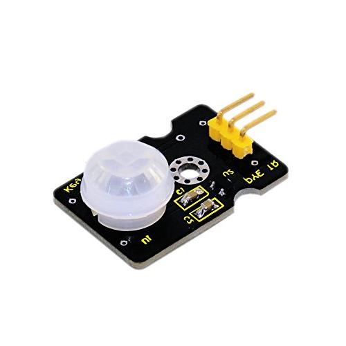 keyestudio PIR Motion Sensor for Arduino, Pyroelectric IR Motion Sensor for  Human Body Motion