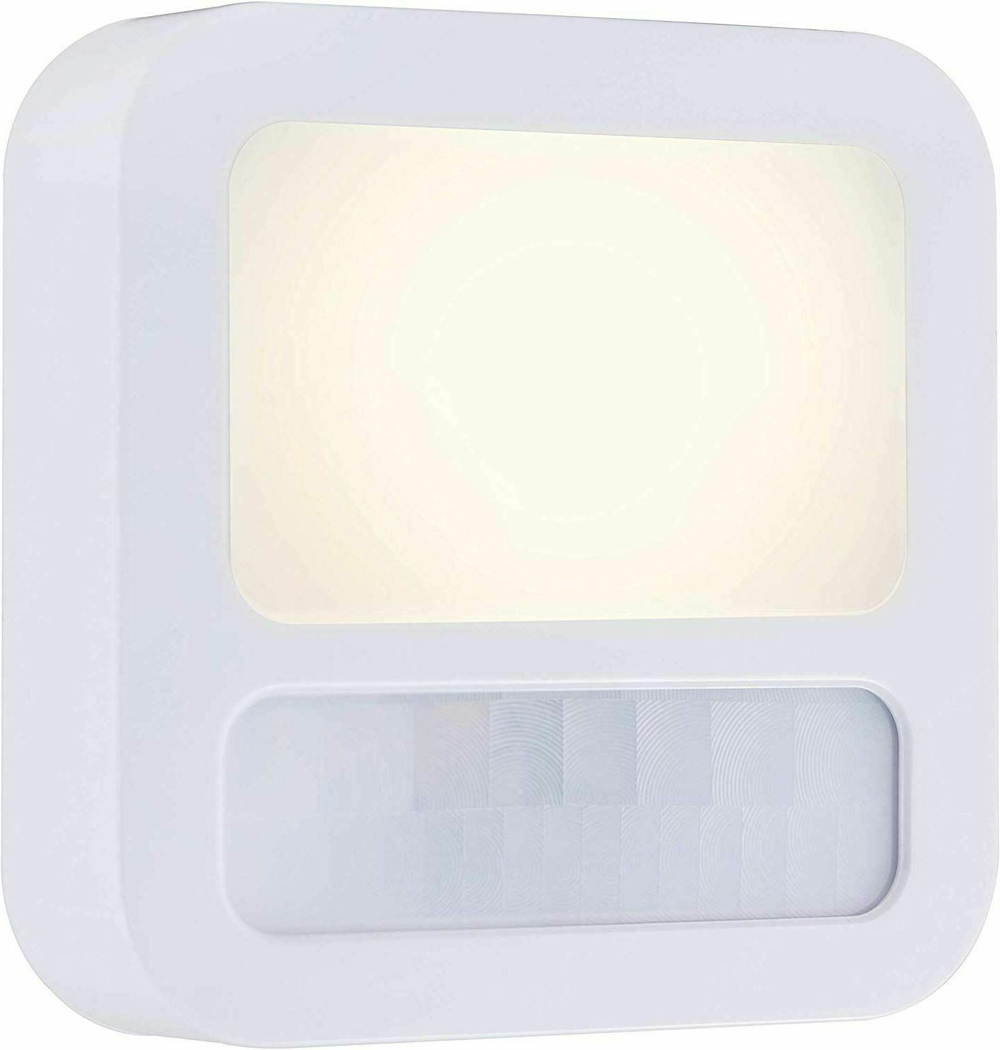Plug In Motion Activated Detector Sensor LED Indoor Night Li