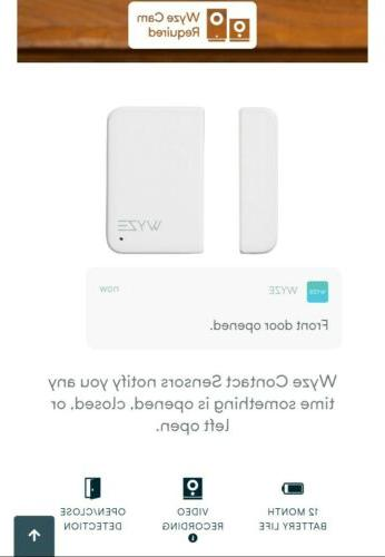 Wyze Sense contact and motion sensors kit for