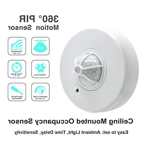 Sensky 3-12M Degree Ceiling Motion Switch High Motion Switch
