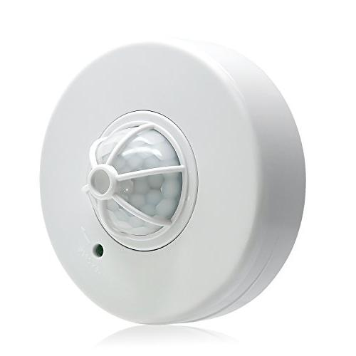 Sensky Degree PIR Ceiling Motion Sensor Light High Motion Sensor Switch