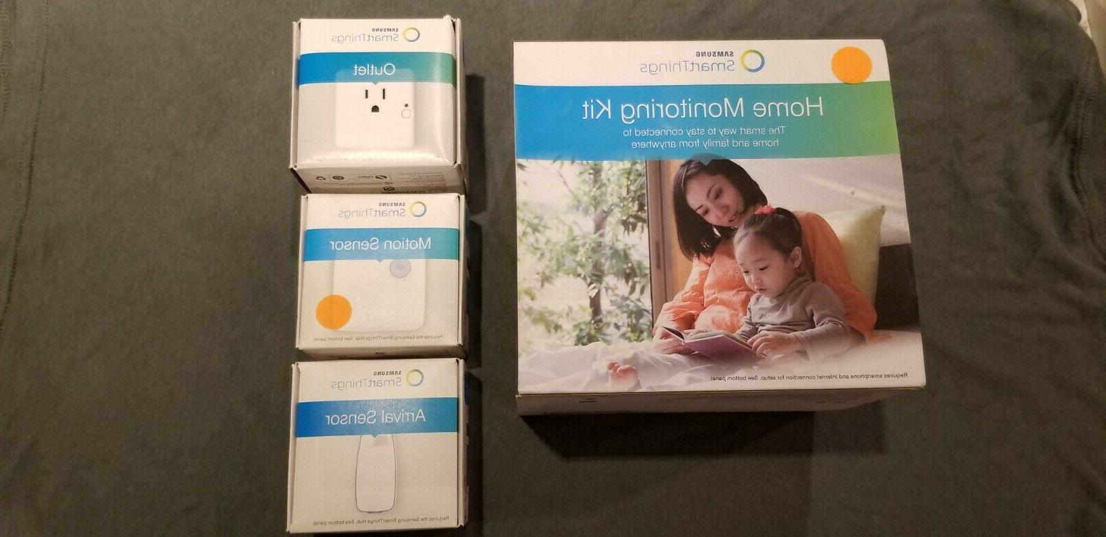 smart things home monitoring kit outlet motion