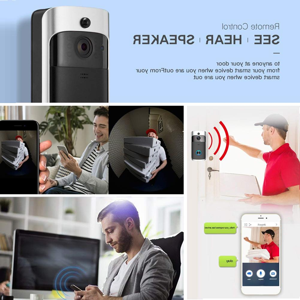 Smart Wireless Bell Camera WiFi Video Intercom Ring 🚪