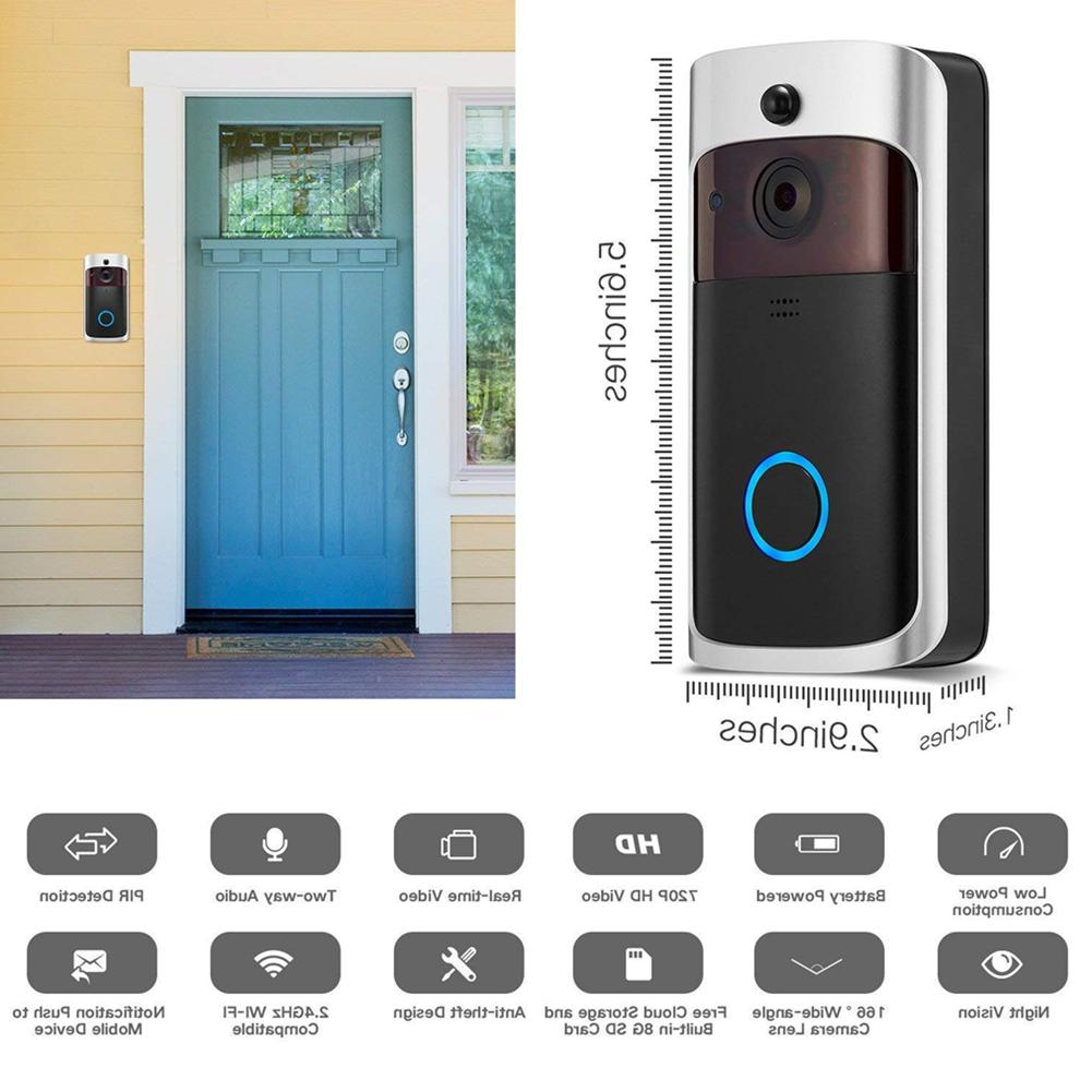 Smart Wireless Phone Door Bell Camera WiFi Video 🚪