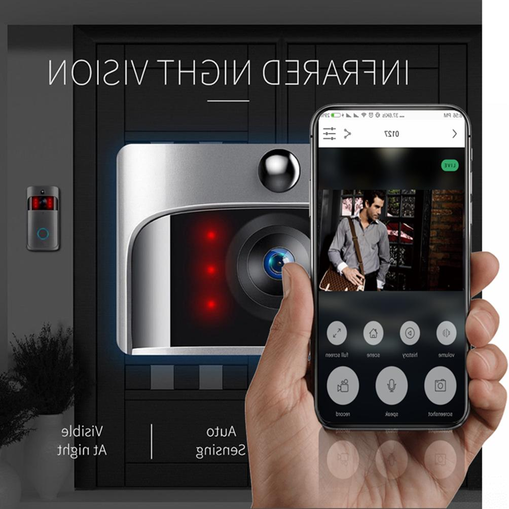 smart wireless phone door bell camera wifi