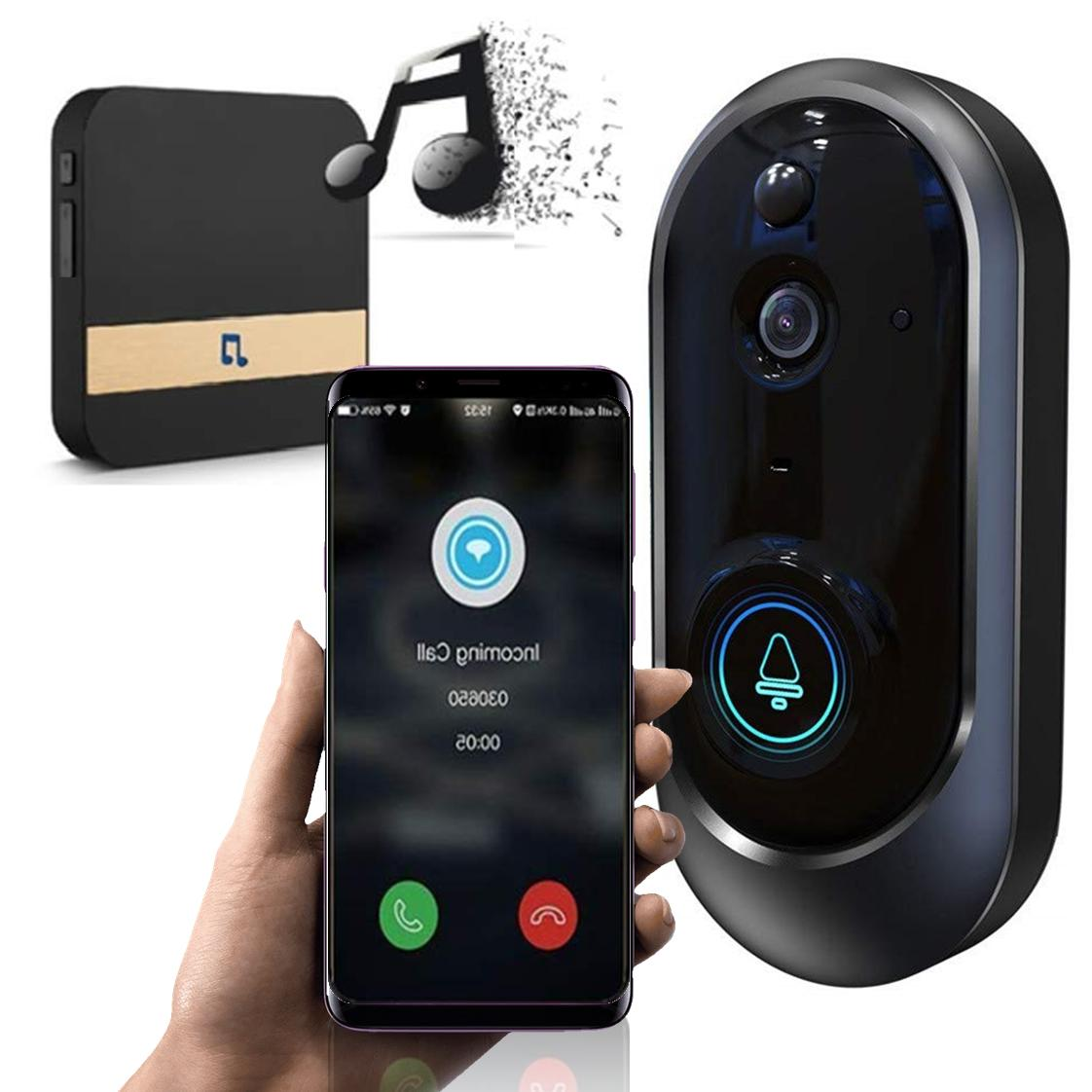 Smart Wireless Door Bell WiFi Smart Video Intercom 🚪