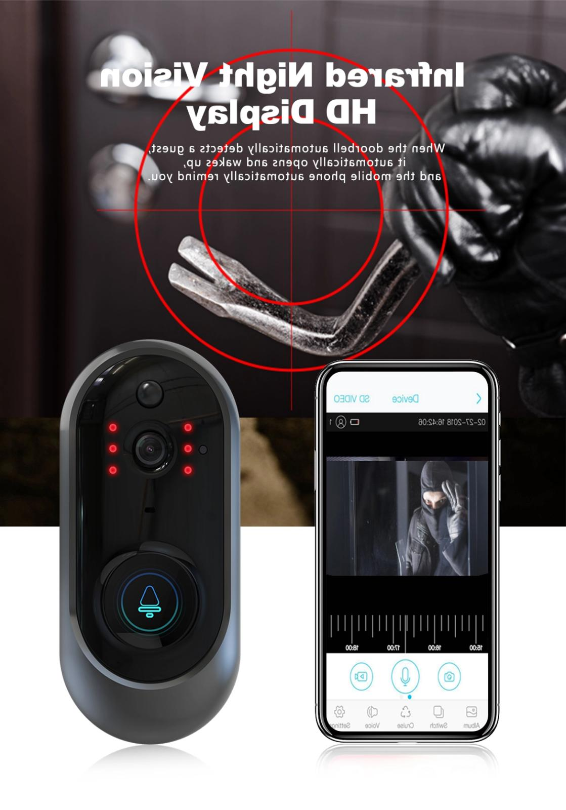 Smart Bell WiFi Smart Video Intercom 🚪