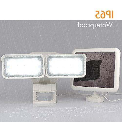 LEPOWER Outdoor, Security Light, Waterproof, Adjustable Light Modes Automatic for Patio, Garage