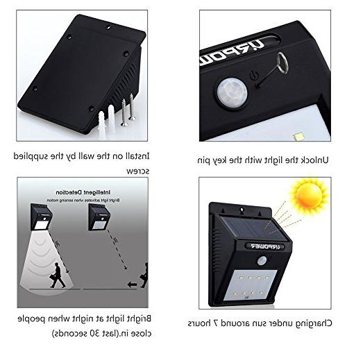 Waterproof Light for Deck, Yard, Garden Activated Auto On/Off