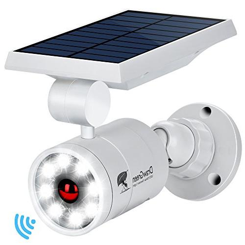 DrawGreen DG08-A Solar Outdoor Motion Sensor,1400-Lumens Bri
