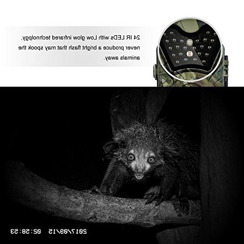 Trail HD Infrared Vision Hunting Outdoor 0.5s Trigger Speed 65 Weatherproof Motion for Wildlife