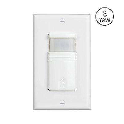white 3 way motion sensor light switch