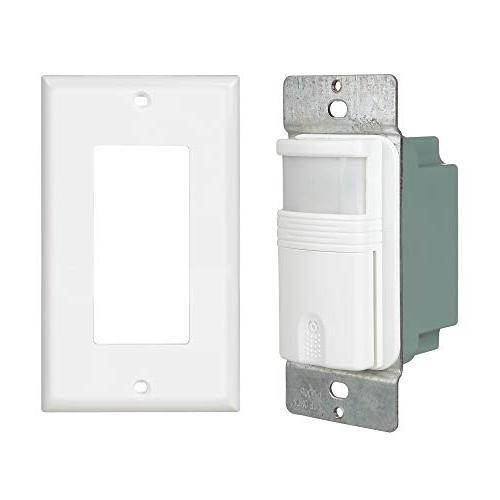Motion Sensor Switch – NEUTRAL Required Vacancy – Certified Adjustable