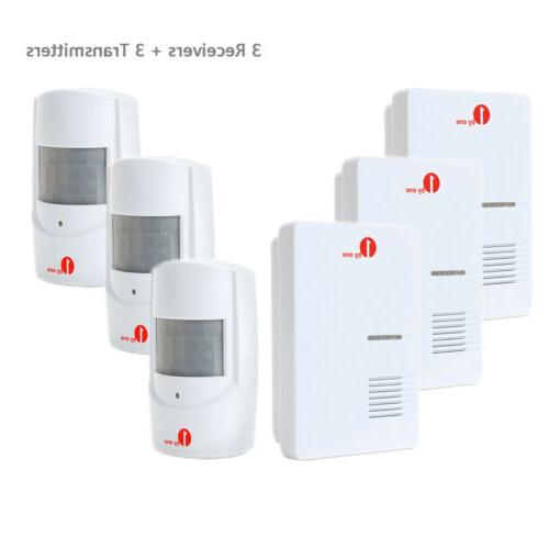 1byone Wireless Motion 36 Chime for Security 500ft