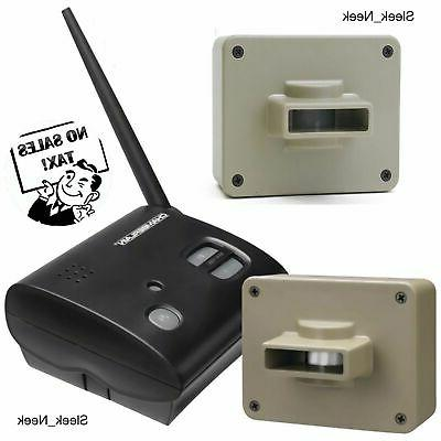 wireless driveway alarm outdoor motion alert 2