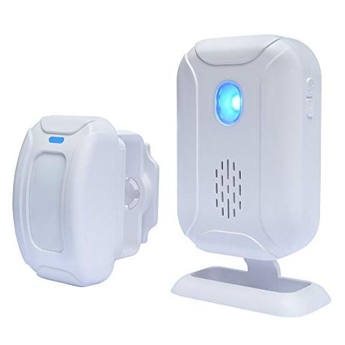 wireless home security door alarm