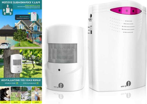 wireless home security driveway alarm 1 receiver