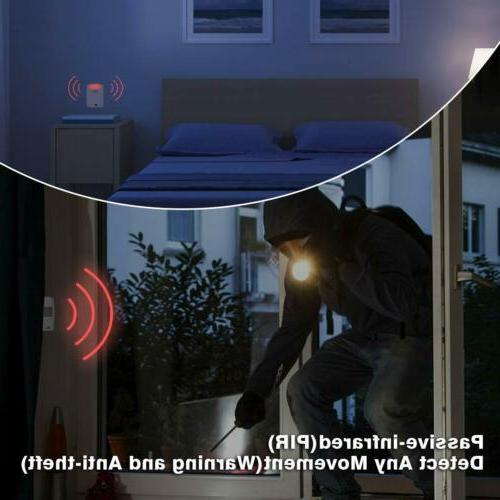 1byone Wireless Home Security System Alert Motion Sensors